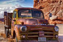 cars - old trucks & vans