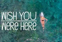 Wish you were here..