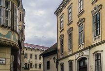 Sopron och dess fina gamla stan / Soprons gamla stad är väldigt vackert och fyllt med några fascinerande byggnader