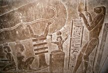 Le monde des géants / Tableau axé sur le monde des géants, toutes races confondues, à travers les époques.