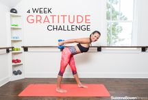 The Gratitude Challenge / This is a time for us to be intentional about not only changing our bodies, but focusing on changing our mindsets.