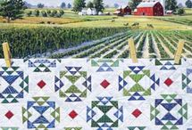 Quiltscapes and Quilting Nostalgia / by Carmen Martinez