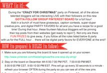 CHRISTMAS PARTY BOARD / THE PINTEREST CHRISTMAS PARTY