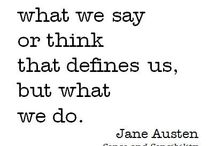 Bewitched by Jane Austen / My Jane Austen favourite quotes