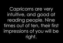 Capricorn :) / Love my sign .... Goats never give up !