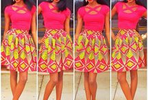 The Beauty Is In The Print! / Fabulous Design Meets African Print To Create Some VaVaVoom!