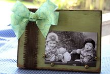 Picture Frame Decor / Different & fun ways to use Picture Frames in the home!!