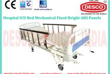 ICU Mechanical Bed Manufacturers / We are here to introduce a wide assortment of ICU Mechanical Bed with ABS Panel and Side Railing features in India.  To get more information visit our website.