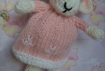 Toys to knit or crochet