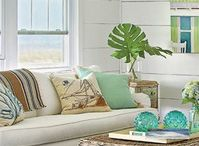 Who doesn't do Beachy?? / Bald Head Island beach decorating and style flare