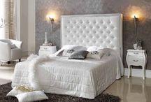 Sengegavler / Vakre romantiske klassiske polstrede sengegavler fra www.mirame.no