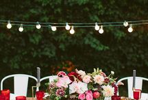 Summer Party Inspiration / Outdoors Summer party inspiration