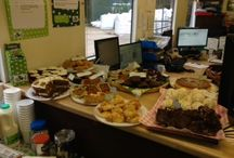 Macmillan Coffee Morning / On October 1st we held a coffee morning (day) in aid of Macmillan.  Thanks to the generous support of customers and staff we raised £215.12!  A big thank you to all of those who baked a beautiful selection of sweets and savouries and to all of those who donated to such a good cause.