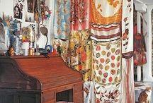 divider biombo curtains