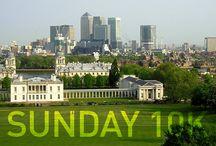 SUNDAY 10K / Where I was for my sunday 10K jog!