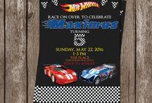 Hot Wheels Birthday Party / Ideas for Hot Wheels Race Car themed birthday party