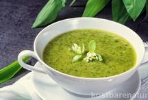 Wildkräuter-Suppen