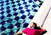Inspiration S/S fotografering Miami / Vi tänkte fota S/S i Miami så att vi får sommarbilder. Jag och Daniel talade omkring en pool så att det inte känns så Miami utan mer Medelhavet. Här kan vi samla inspirationsbilder så att vi kan göra ett moodboard innan jag åker.