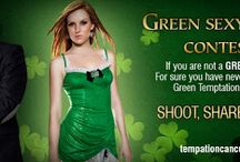 """TEMPTATION FACEBOOK CONTEST / In honor of St. Patrick's, we are inviting you to participate in our special #FacebookContest, #Greensexyselfiecontest  so that you can come with your partner and celebrate our """"Green Temptation Fest"""" this year! #TemptationContest If you want to win a complimentary 3 day-2 night stay with us for 2, you just need to participate here: https://www.facebook.com/events/369663879839350/"""