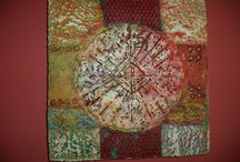 Robyn Cole Artworks / This artwork is designed to fit into your suitcase and take with you. Robyn's artwork is shown at Casa de Montana. Her website is: http://www.robyncoleartworks.com/ www.casademontana.com