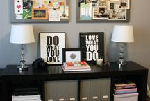 Office area / by Mandy Bourgeois