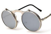 Occhiali Da Sole Rotondi steampunk