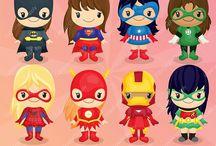 Cumple superheroinas