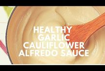 Alfredo Garlic Cauliflower  Sauce