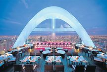 Rooftop bars and restaurants