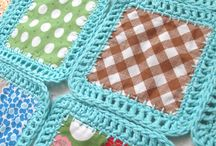 Blankets fabric and crochet
