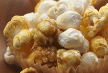 Cheese and caramel popcorn
