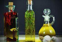 Öle - Oils / Aromatisierte und besondere Öle