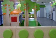 עיצוב חלל מרפאות ילדים - כוכב קטן / בעיצוב מרפאות ילדים אנו חושבים תמיד על שיפור הביקור של כל  ילד חולה המגיע למרפאה. הביקור במרפאה שהיא גם משחקיה, הופך את החוויה כולה לנעימה ופחות מאיימת. והכי חשוב ליזכרון מתוק.  לפרטים: http://www.littlestar-design.com/