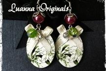 Pendientes//Earrings Luanna Originals