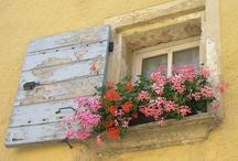 Dører og vakre vinduer