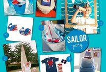 Sailor/Fishing Stork Party