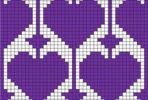 Crochet tapeçaria