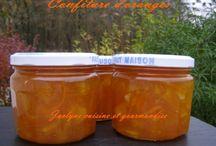 Orange confiture