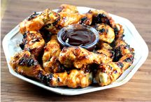 Grilled Dijon Chicken Wings Recipe