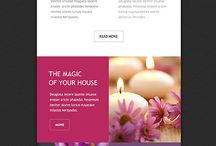 Creative Emails / Email designs