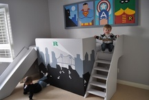 Operation: Boys' Room / Inspiration for awesome boys' bedrooms
