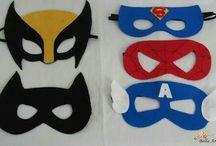 Mascaras feltro