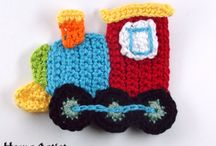 crochet: applique