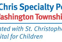 St. Chris Specialty Pediatrics / In addition to caring for children in the immediate Philadelphia area, St. Christopher's Hospital for Children now provides specialty pediatric services to kids throughout Pennsylvania and New Jersey at its six specialty satellite locations. Learn more: stchristophershospital.com/locations