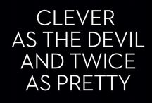 clever as the devil and twice as pretty / linda