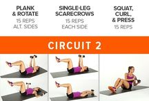 Exercise circuits