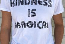Salt + Pepper Instagram Close up on the kindness is magical tee#bekind #kindness #magical #saltandpeppersupply