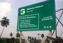 Online Marketing / It's about the online marketing services provided by iGreens Softech Pvt. Ltd.