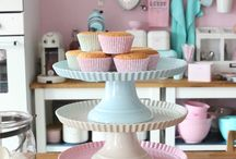 Baking / #cupcakes #baking #pastels #kitchenware #homewares #pastels #homedecor #kitchen