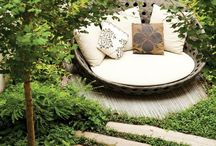Patio furniture / Bohemian lounge garden chair